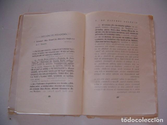 Libros antiguos: Seminario de Estudos Galegos. Dez Cursos de Traballo. 1923-1934. RM80610. - Foto 7 - 86384832