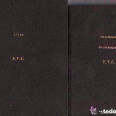 Libros antiguos: ARTE DE APAREJAR Y MANIOBRAS DE LOS BUQUES - 2 TOMOS / TEXTO Y ATLAS (1859) / MUNDI- 1077. Lote 86399412