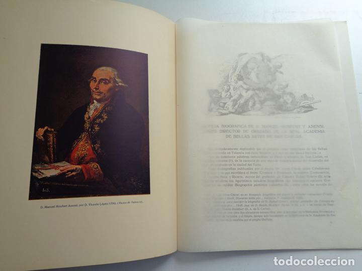Libros antiguos: EL GRABADOR DON MANUEL MONFORT Y ASENSI.-674 - Foto 3 - 201555413