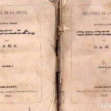 Libros antiguos: CECILIA - DOS TOMOS (BIBLIOTECA DE LA CORONA, 1863) . Lote 86485692