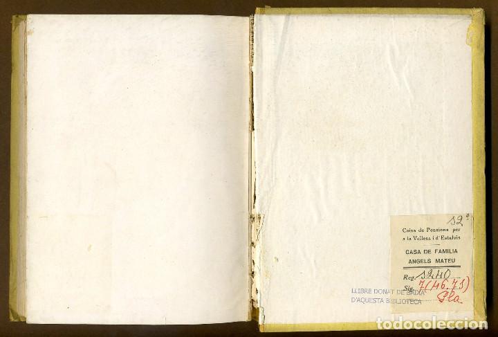 Libros antiguos: ART POPULAR I DE LA LLAR A CATALUNYA - Foto 3 - 86502404