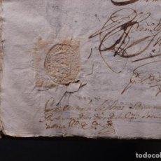 Libros antiguos: MANUSCRITO EXECUTORIA DE RAYMUNDO DE VERRIO, VILLAROEL Y LUIS TEIXEIRO (CLERIGOS). VILLASANTE 1731. Lote 86542712