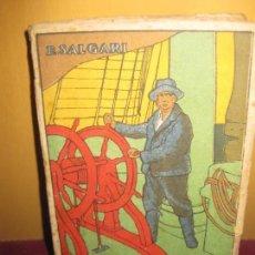Libros antiguos - E. SALGARI. LOS PESCADORES DE BALLENAS. EDITORIAL SATURNINO CALLEJA. MADRID. - 86631460