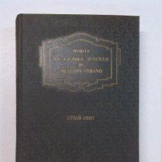 Libros antiguos: CÉSAR CORT - MURCIA. UN EJEMPLO SENCILLO DE TRAZADO URBANO. Lote 86700264