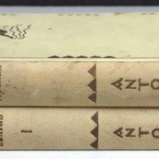 Libros antiguos: EDITORIAL BARCINO. 2 VOLÚMENES. VARIOS AUTORES. 1928/1930.. Lote 86727272