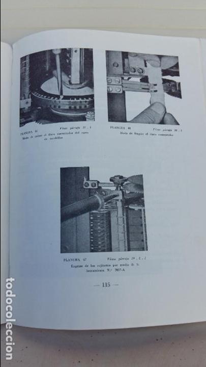 Libros antiguos: AJUSTE DE MAQUINAS. COMPAÑIA TELEFONICA NACIONAL. ESCUELA TECNICA DE TELEFONIA. 1960. RARO - Foto 3 - 86848952