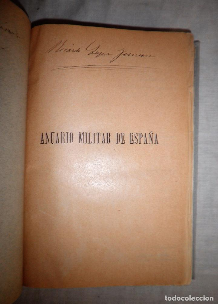 Libros antiguos: ANUARIO MILITAR DE ESPAÑA AÑO 1909 - GUERRA DE MARRUECOS. - Foto 4 - 86862392