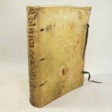 Libros antiguos: POLÍTICA DE VILLADIEGO (1617). Lote 54240556