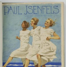 Libros antiguos: GYMNASTIK ALS LEBENSFREUDE-PAUL JSENFELS-ED.GIEBENTE NUFLAGE, 1926. Lote 86957092