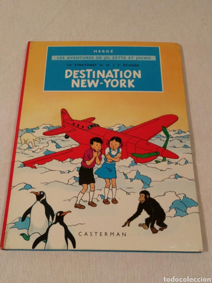 DESTINATION NEW-YORK, HERGE, 1951 (Libros Antiguos, Raros y Curiosos - Literatura Infantil y Juvenil - Otros)