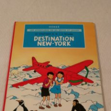 Libros antiguos: DESTINATION NEW-YORK, HERGE, 1951. Lote 86972396
