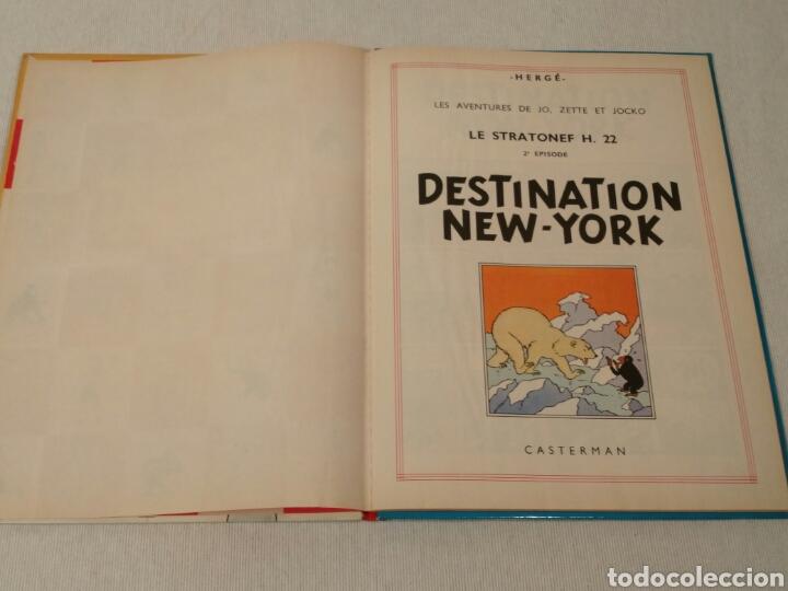 Libros antiguos: Destination New-York, Herge, 1951 - Foto 3 - 86972396
