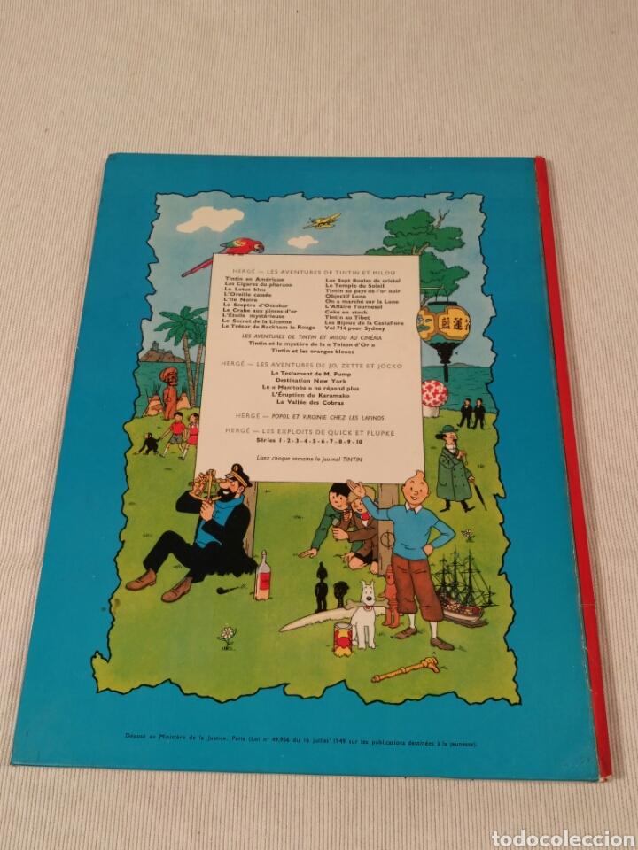 Libros antiguos: Destination New-York, Herge, 1951 - Foto 2 - 86972396