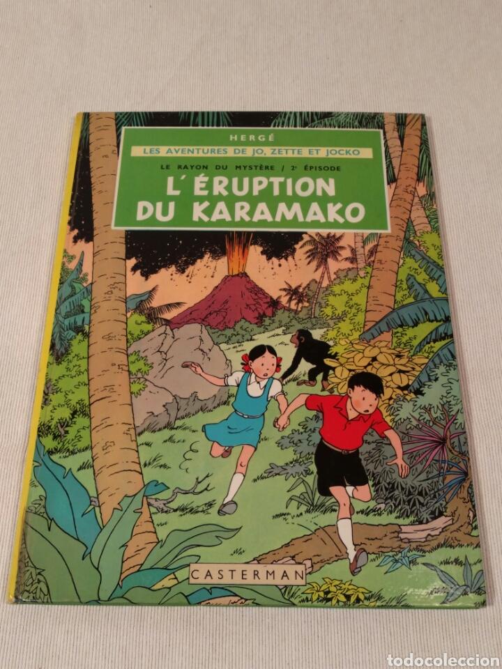 L' ERUPTION DU KARAMAKO, HERGE, 1952 (Libros Antiguos, Raros y Curiosos - Literatura Infantil y Juvenil - Otros)