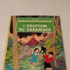 Libros antiguos: L' ERUPTION DU KARAMAKO, HERGE, 1952. Lote 86972536