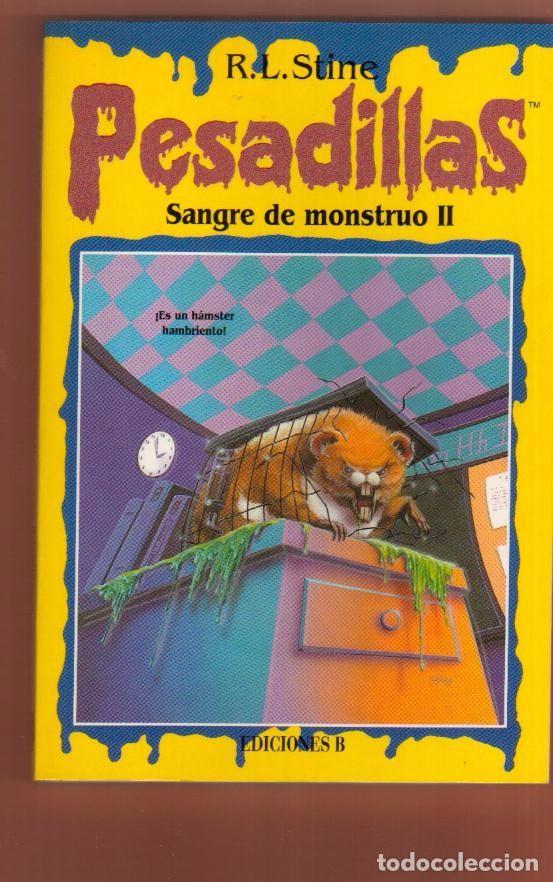 LIBRO TERROR EDICIONES B: PESADILLAS R. L. STINE - EL DE LAS FOTOS VER TODOS MIS OTROS LIBROS (Libros Antiguos, Raros y Curiosos - Literatura Infantil y Juvenil - Otros)