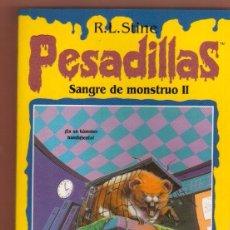Libros antiguos: LIBRO TERROR EDICIONES B: PESADILLAS R. L. STINE - EL DE LAS FOTOS VER TODOS MIS OTROS LIBROS. Lote 87043588