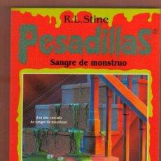 Libros antiguos: LIBRO TERROR EDICIONES B: PESADILLAS R. L. STINE MIRA MIS OTROS LIBROS. Lote 87043728