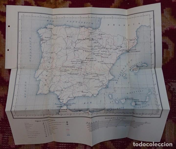 Libros antiguos: ATLAS DE LOS AERODROMOS DE ESPAÑA PUBLICADO POR LA DIRECCION GENERAL DE AERONAUTICA CIVIL. AVIACION - Foto 8 - 87158980