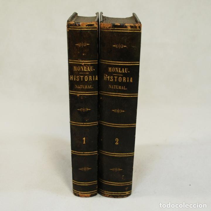 Libros antiguos: COMPENDIO DE HISTORIA NATURAL - JOSÉ MONLAU - Foto 3 - 74675170