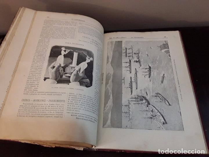 Libros antiguos: LA NATURALEZA PRIMER AÑO 1890 PRIMER SEMESTRE MADRID FUENTES Y CAPDEVILLE - Foto 4 - 87259548