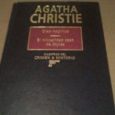 Livres anciens: DIEZ NEGRITOS/EL MISTERIOSO CASO DE STYLES. Lote 87323976