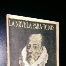 Libros antiguos: LA NOVELA PARA TODOS / EL AMANTE LIBERAL / CERVANTES. Lote 87347996