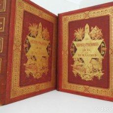 Libros antiguos: LAS SUPERSTICIONES DE LA HUMANIDAD - 1880 - LAMINAS CROMOLITOGRÁFICAS - COMPLETA. Lote 87378012