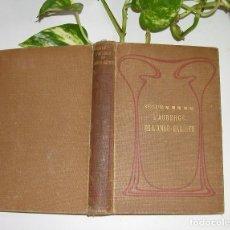 Libros antiguos: L´AUBERGE DE L´ANGE-GARDIEN PAR MME LA COMTESSE DE SÉGUR ILUSTRÉE 75 VIGNETTES AÑO 1907 PARIS. Lote 87445552