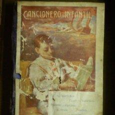 Libros antiguos: ANTIGUO LIBRO - CANCIONERO INFANTIL - FERNANDEZ SHAW - AÑO 1910 -. Lote 87476340