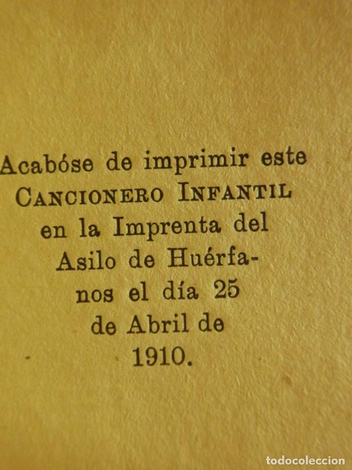 Libros antiguos: Antiguo libro - Cancionero Infantil - Fernandez Shaw - Año 1910 - - Foto 4 - 87476340