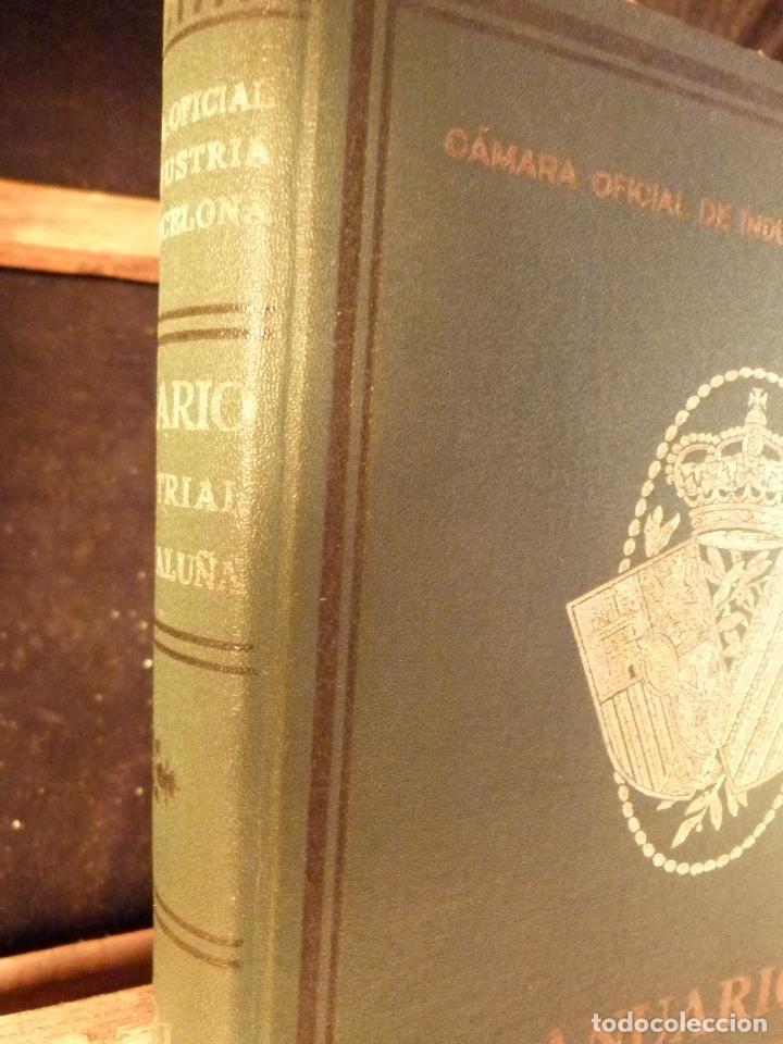Libros antiguos: ANUARIO INDUSTRIAL DE CATALUNYA 1924 - Foto 2 - 87491792