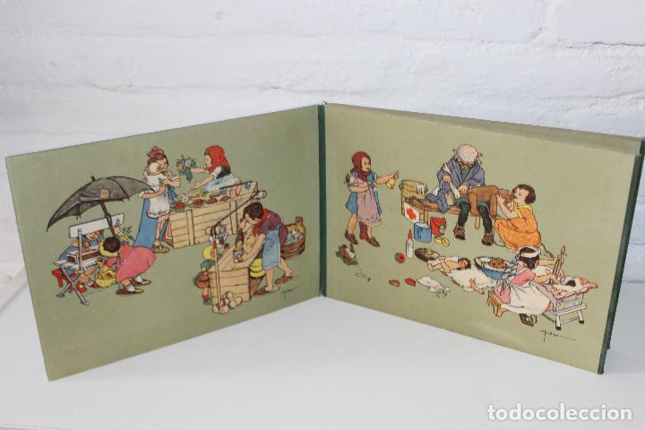 Libros antiguos: Como juegan los niños. Mathilde Ritter. Circa 1920. Libro infantil ilustrado. raro en comercio! - Foto 2 - 87508052