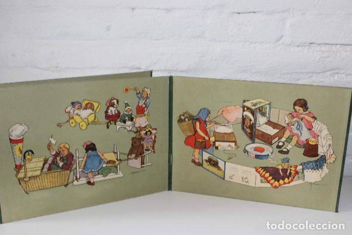 Libros antiguos: Como juegan los niños. Mathilde Ritter. Circa 1920. Libro infantil ilustrado. raro en comercio! - Foto 3 - 87508052