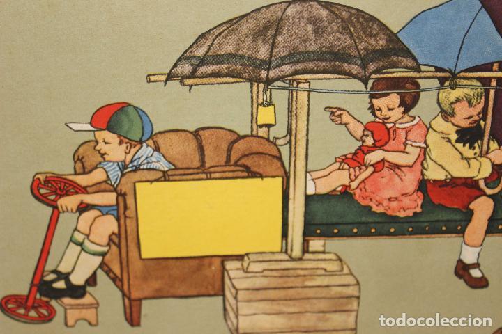 Libros antiguos: Como juegan los niños. Mathilde Ritter. Circa 1920. Libro infantil ilustrado. raro en comercio! - Foto 4 - 87508052