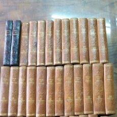 Libros antiguos: BUFFON: OBRAS COMPLETAS, 35 TOMOS MELLADO 1847-1850 SIN LÁMINAS, 2 MAPAS EN T1.. Lote 87562260