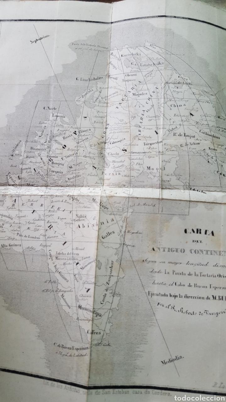 Libros antiguos: BUFFON: OBRAS COMPLETAS, 35 TOMOS MELLADO 1847-1850 SIN LÁMINAS, 2 MAPAS EN T1. - Foto 10 - 87562260