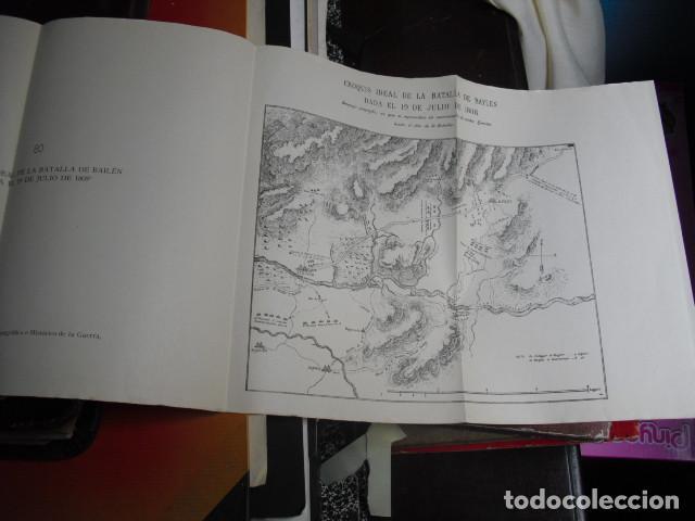Libros antiguos: BAILEN ESTUDIO POLITICO Y MILITAR DE LA GLORIOSA JORNADA MOZAS MESA - Foto 3 - 91524164