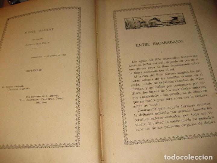 Libros antiguos: entre escarabajos , el canario y el jilguero . marinel.lo . il. opisso . col. natura - Foto 3 - 142307877