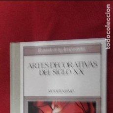 Libros antiguos: ARTES DECORATIVAS DEL SIGLO XX - MODERNISMO - ED. PLANETA AGOSTINI - CARTONE LOMO DE TELA. Lote 87745676