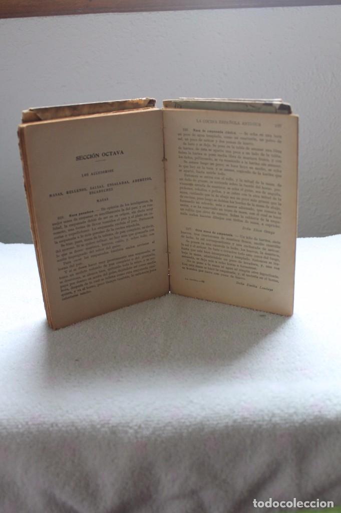 Libros antiguos: LA COCINA ESPAÑOLA ANTIGUA-CONDESA DE PARDO BAZÁN-1913-1920 - Foto 3 - 87792684
