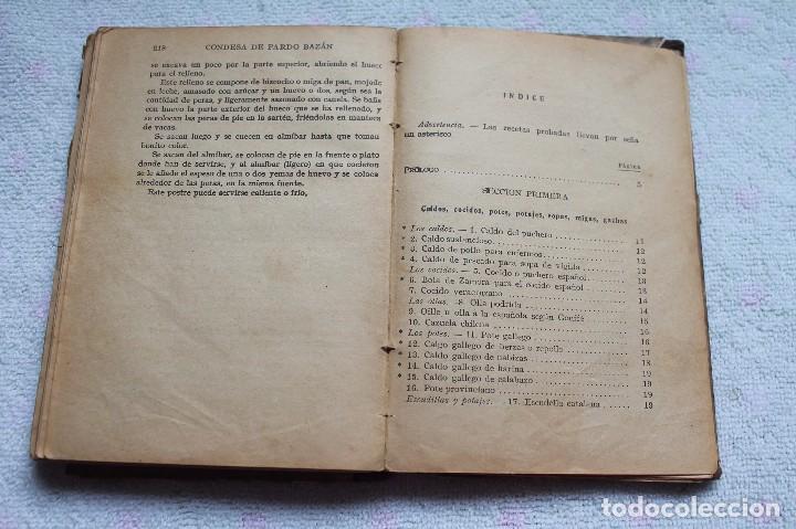 Libros antiguos: LA COCINA ESPAÑOLA ANTIGUA-CONDESA DE PARDO BAZÁN-1913-1920 - Foto 21 - 87792684