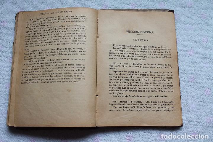 Libros antiguos: LA COCINA ESPAÑOLA ANTIGUA-CONDESA DE PARDO BAZÁN-1913-1920 - Foto 22 - 87792684