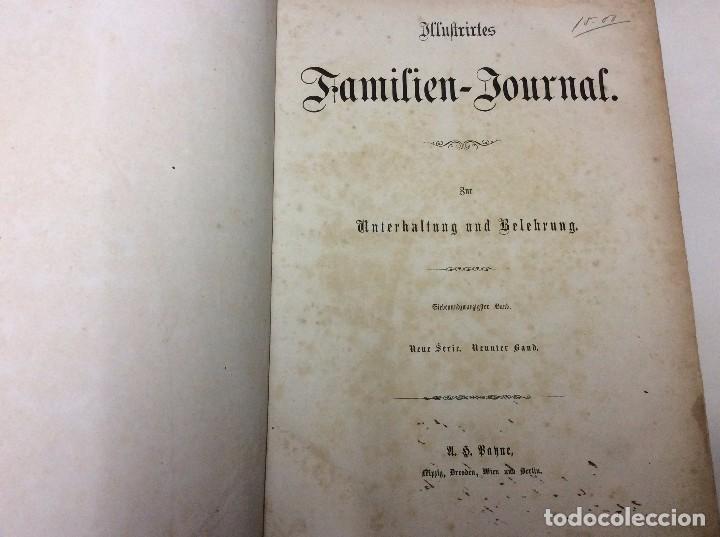 ILLUSTRIRTES FAMILIEN - JOURNAL, 1867, GRABADOS, CUENTOS, HISTORIA, LITERATURA, ETC (Libros Antiguos, Raros y Curiosos - Bellas artes, ocio y coleccionismo - Otros)