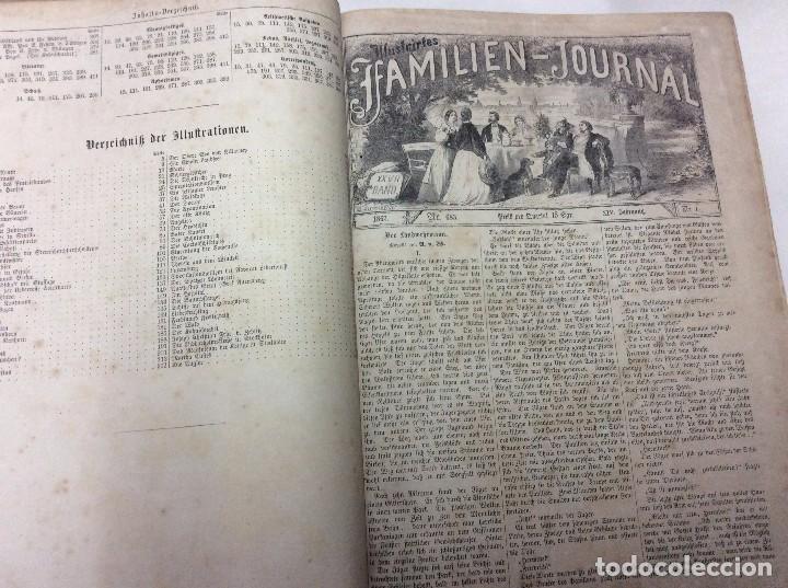 Libros antiguos: Illustrirtes Familien - Journal, 1867, Grabados, cuentos, historia, literatura, etc - Foto 2 - 88097624