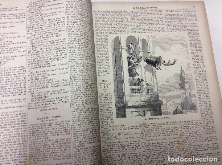 Libros antiguos: Illustrirtes Familien - Journal, 1867, Grabados, cuentos, historia, literatura, etc - Foto 3 - 88097624