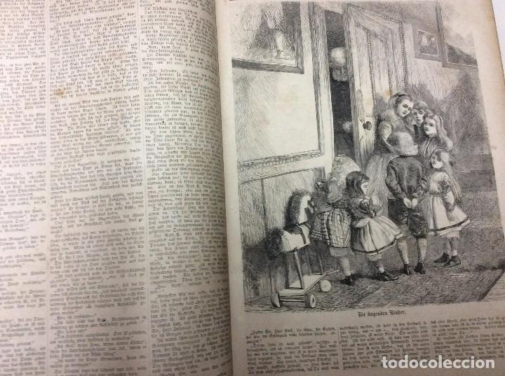 Libros antiguos: Illustrirtes Familien - Journal, 1867, Grabados, cuentos, historia, literatura, etc - Foto 5 - 88097624