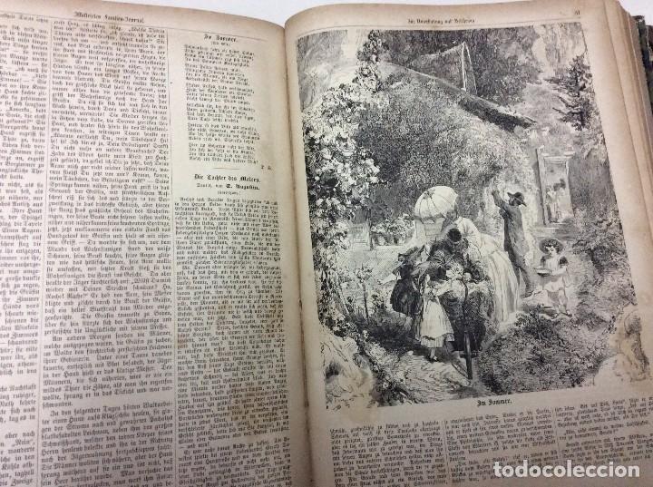 Libros antiguos: Illustrirtes Familien - Journal, 1867, Grabados, cuentos, historia, literatura, etc - Foto 6 - 88097624