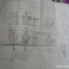 Libros antiguos: 1865 ESTUDIOS SOBRE LAS MÁQUINAS DE VAPOR EMPLEADAS EN LAS CONSTRUCCIONES RAFAEL CERERO. Lote 88305456
