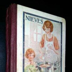 Livres anciens: RAMILLETE DEL AMA DE CASA / NIEVES. Lote 88750580